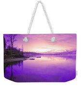 Purple Skies Weekender Tote Bag
