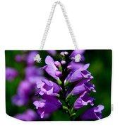 Purple Skullcap Bloom Weekender Tote Bag