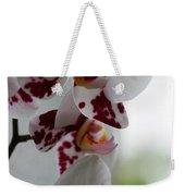 Purple Splash Orchid 1 Weekender Tote Bag