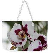 Purple Splash Orchid 3 Weekender Tote Bag