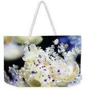 Purple Spotted Jellyfish  Weekender Tote Bag
