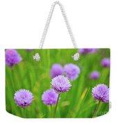 Purple Spring 14 Weekender Tote Bag