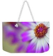 Purple Spring 7 Weekender Tote Bag