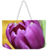 Purple Spring Weekender Tote Bag