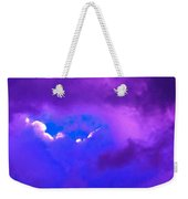Purple Storm Weekender Tote Bag
