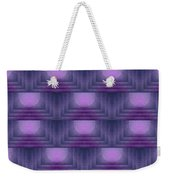 Purple Sun Deco Weekender Tote Bag