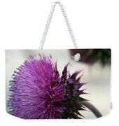 Purple Thistle Weekender Tote Bag