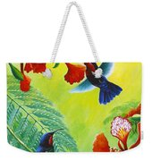 Purple-throated Caribs And Flamboyant Weekender Tote Bag