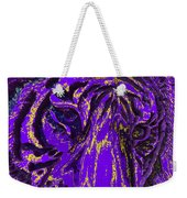 Purple Tiger Weekender Tote Bag