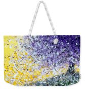 Purple Tree And The Afternoon Sun Weekender Tote Bag