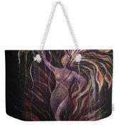 Purple Tree Goddess Weekender Tote Bag