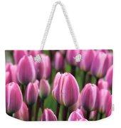 Purple Tulips Weekender Tote Bag