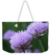 Purple Twins Weekender Tote Bag