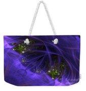 Purple Universe Weekender Tote Bag