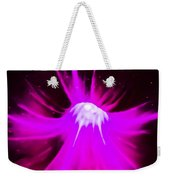 Purple Universe Weekender Tote Bag