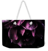 Purple Velvet Rose Weekender Tote Bag
