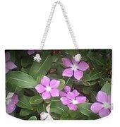 Purple Vintas Flower Photograph Weekender Tote Bag