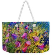 Purple Wild Flowers  Weekender Tote Bag
