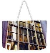 Chicago Golden Purple Window Panes Weekender Tote Bag