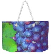 Purple Wine Grapes 2017 Weekender Tote Bag