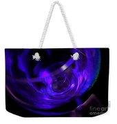 Purple Wine Weekender Tote Bag