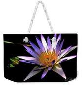 Purple Zen Weekender Tote Bag