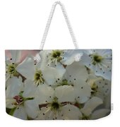 Purpleleaf Sand Cherry Blossoms Weekender Tote Bag