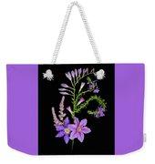 Purples Weekender Tote Bag
