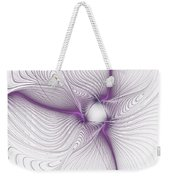 Purplish Weekender Tote Bag