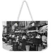 Pushcart Market, 1939 Weekender Tote Bag