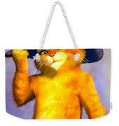 Puss In Boot Weekender Tote Bag