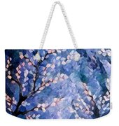 Pussy Willow Abstract Weekender Tote Bag
