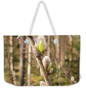Pussy Willow Weekender Tote Bag