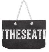 Put The Seat Down Weekender Tote Bag