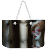 Putting Our Heads Together Weekender Tote Bag