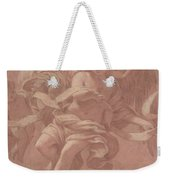 Putto And Angel Holding A Banderole, 1706  Weekender Tote Bag