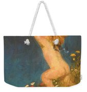 Putto And Butterfly 1896 Weekender Tote Bag