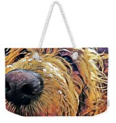 Puppy Wants To Cuddle Weekender Tote Bag