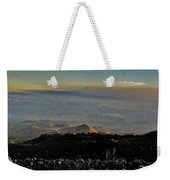 Pu'us Aglow In Late Afternoon Light Weekender Tote Bag