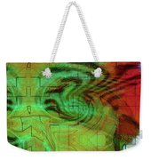Puzzle Face Weekender Tote Bag