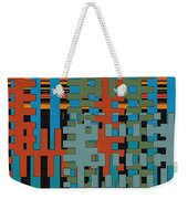 Puzzled Weekender Tote Bag by Ben and Raisa Gertsberg