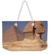 Pyramid And Sphinx Weekender Tote Bag