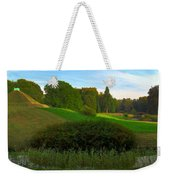 Pyramid In The Pueckler Park Weekender Tote Bag