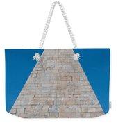 Pyramid Of Caius Cestius Weekender Tote Bag