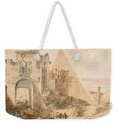 Pyramid Of Cestius And The Porta San Paolo, Rome Weekender Tote Bag