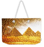 Pyramids Weekender Tote Bag