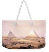 Pyramids Of Geezeh - Egypt Weekender Tote Bag
