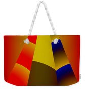 Pyramids Pendulum Weekender Tote Bag