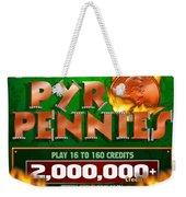 Pyro Pennies Weekender Tote Bag