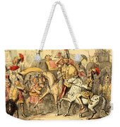 Pyrrhus Arrives In Italy With His Troupe Weekender Tote Bag
